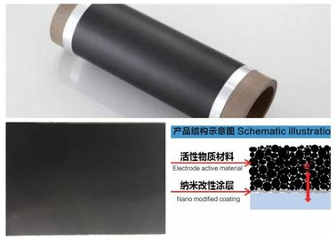 Conductive Carbon Coated Aluminum Foil 0.012 - 0.040 Mm Basis Material Thickness